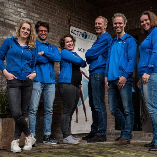 Fysiotherapie Utrecht, team van Actifytaal